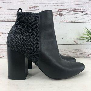 COLE HAAN Aylin Bootie SZ 6.5 NEW Black Leather